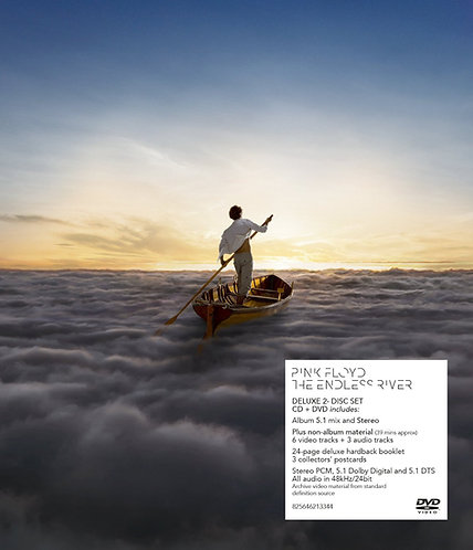 PINK FLOYD 2xCD+DVD The Endless River (Deluxe Box Set Edition)