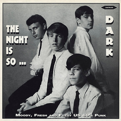 VARIOS LP The Night Is So Dark (Moody, Fresh and Fuzzy US 60's Punk)