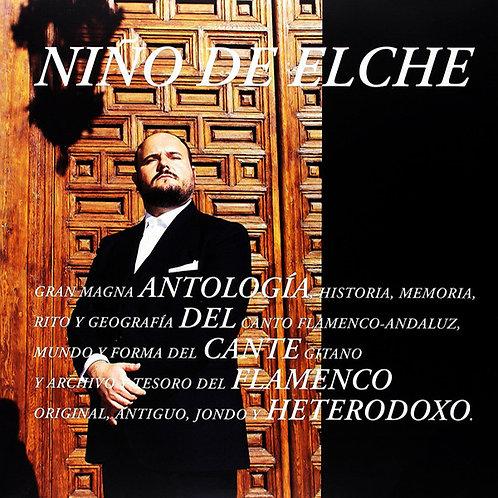 NIÑO DE ELCHE 3xLP Antologia Del Cante Flamenco Heterodoxo