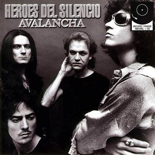 HEROES DEL SILENCIO LP+CD Avalancha