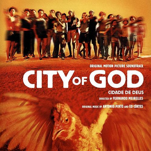 ANTONIO PINTO & ED CORTES CD City Of God (Original Motion Picture Soundtrack)