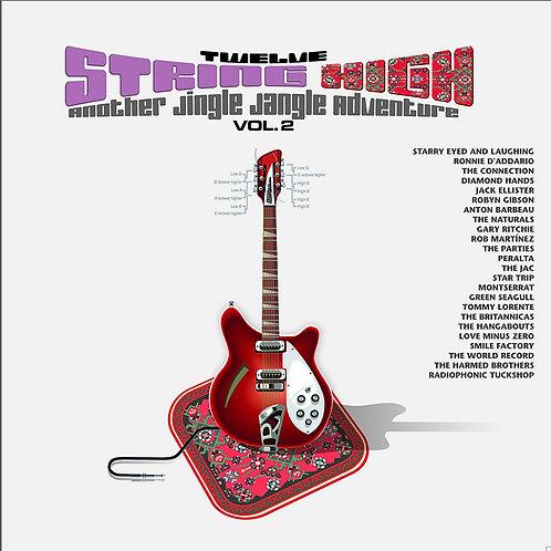 VARIOS 2xLP+CD Twelve String High Vol. 2