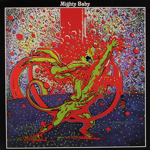 MIGHTY BABY LP Mighty Baby (Psychedelic Rock UK) Gatefold Cover