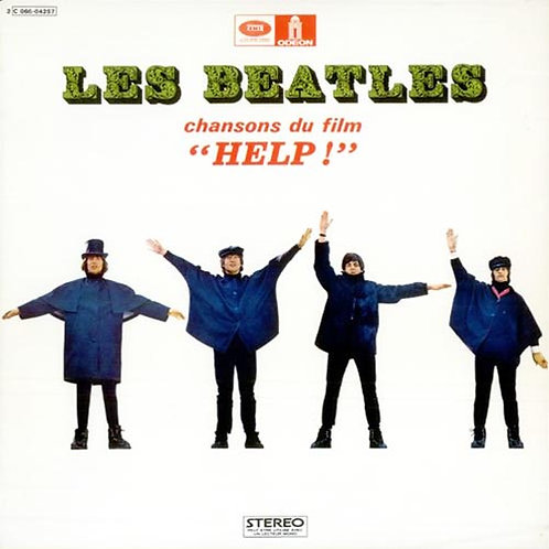 BEATLES CD Help! Chansons du film Help (French Vinyl Replica)