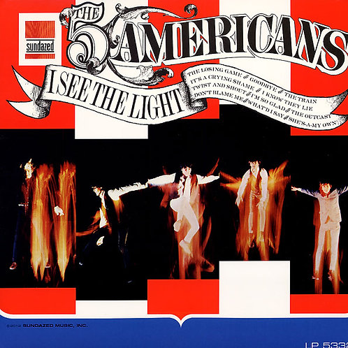 THE FIVE AMERICANS LP I See The Light