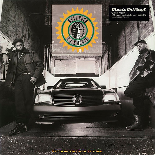 PETE ROCK & C.L. SMOOTH 2xLP Mecca And The Soul Brother (180 gram vinyl)
