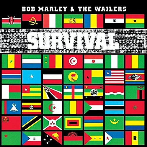 BOB MARLEY & THE WAILERS LP Survival (Remastered)