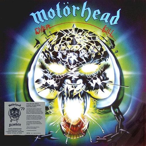 MOTORHEAD 3xLP Overkill (40th Anniversary Deluxe Edition)