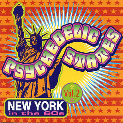 VARIOUS CD Psychedelic States: New York In The 60s Vol. 2