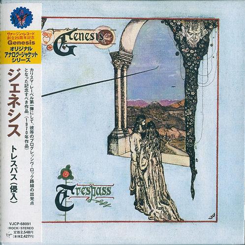 GENESIS CD Trespass (Japan Mini Lp replica)
