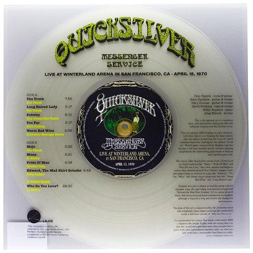 QUICKSILVER MESSENGER SERVICE LP+CD Live At Winterland Arena In San Francisco 2
