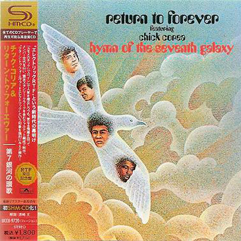 RETURN TO FOREVER CD Hymn Of The Seventh (SHM-CD Japan)