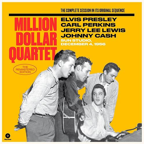 ELVIS PRESLEY CARL PERKINS JERRY LEE LEWIS & CASH 2xLP Million Dollar Quartet
