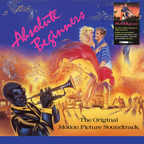 VARIOS 2xLP Absolute Beginners (The Original Motion Picture Soundtrack)