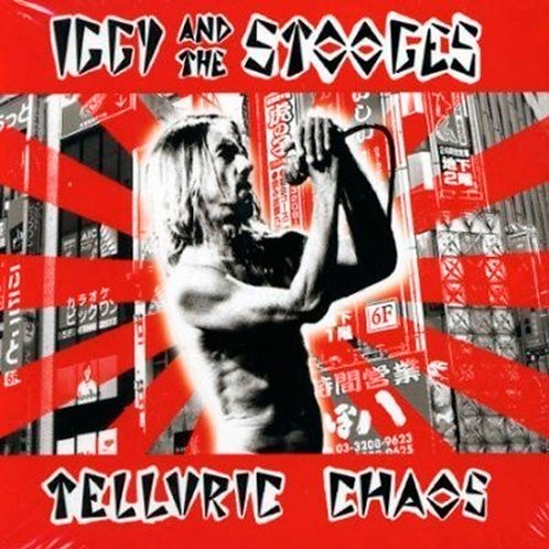 IGGY AND THE STOOGES CD Telluric Chaos