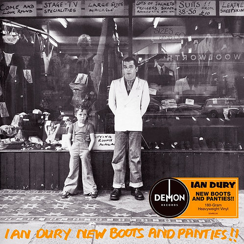 IAN DURY LP New Boots And Panties!!