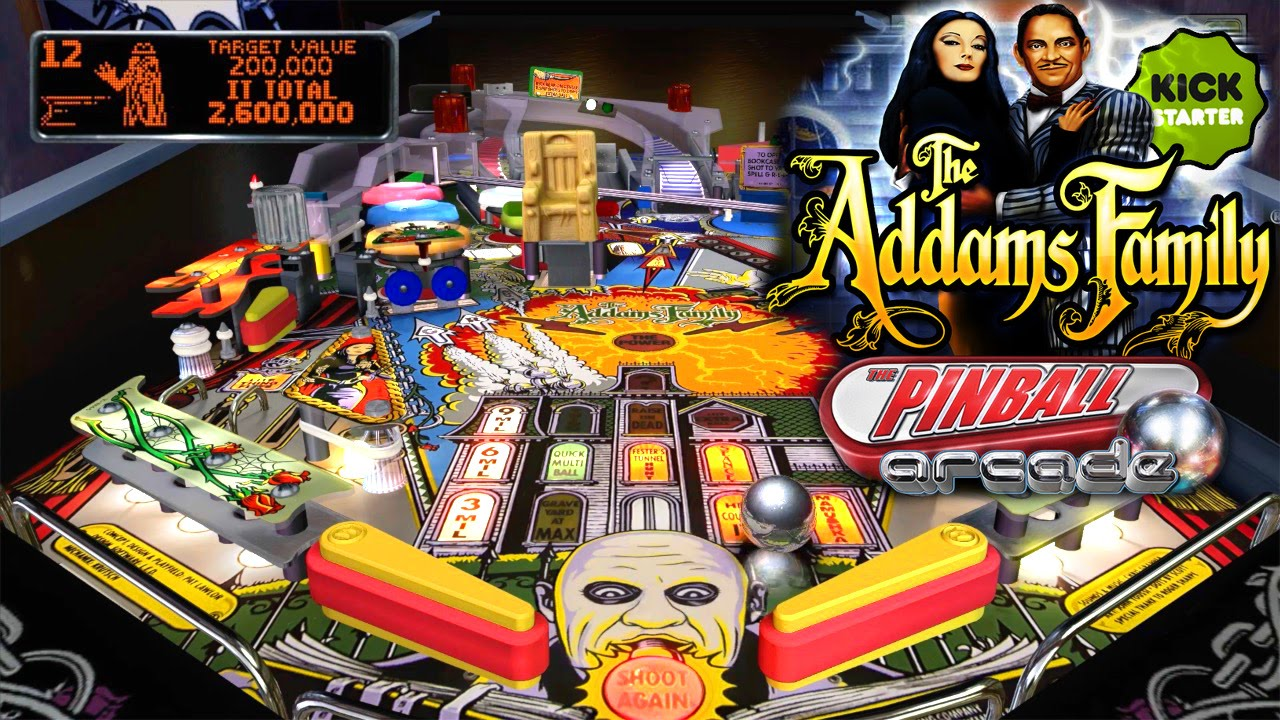 Adams Family Pinball