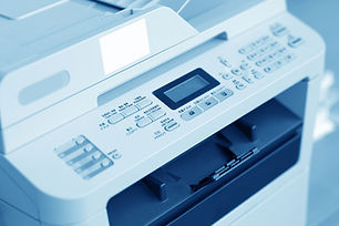 picture of a white printer for printer setup and replacement in cape coral swfl