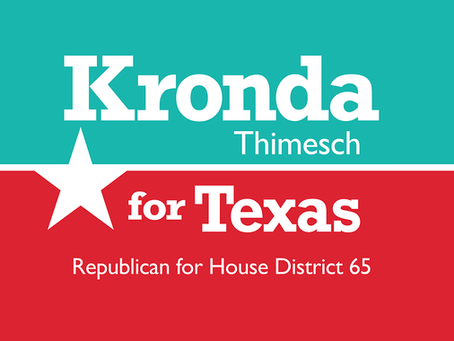 Kronda Thimesch Officially Announces for Texas House District 65
