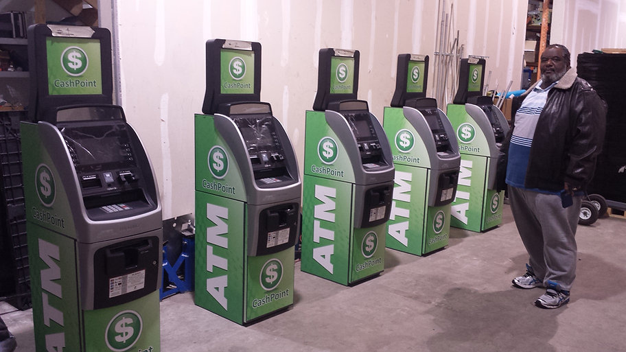 Custom Branded CashPoint ATMs for FREE ATM Placments