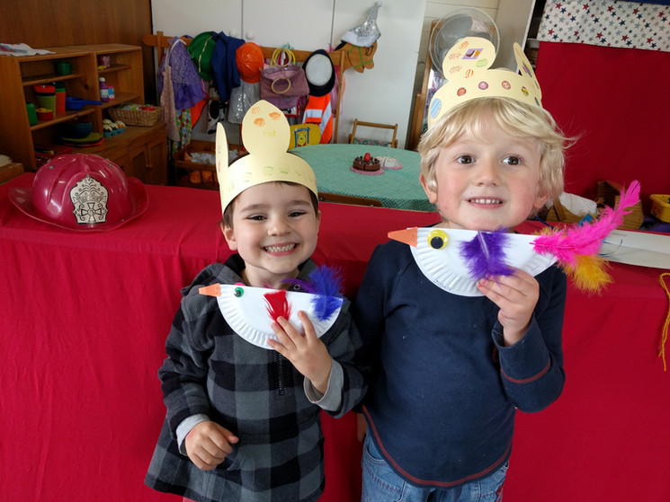 Bunny ears and chickens crafts.jpg