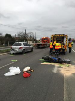 Intervention sur accident (N20)