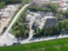 Vue aérienne du parc AMP DEPANNAGES