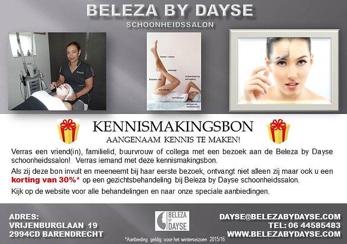 korting, anti-cellulitis, waxen, harsen, schoonheidssalon in Barendrecht