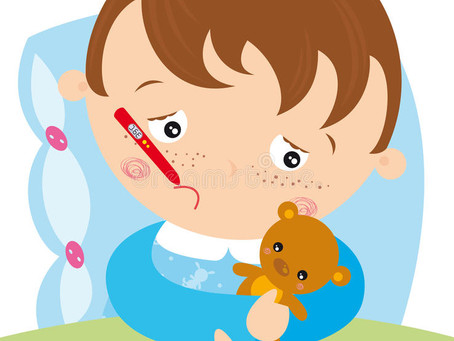 When to exclude children for sickness and how to communicate this to parents.