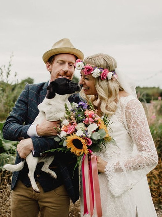 Mount Druid Bride and Groom- and doggy <3