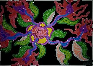 DESSIN Fleurs Fin septembre Vata Design.