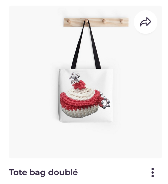 Redbubble Vata Design, sac tote bag