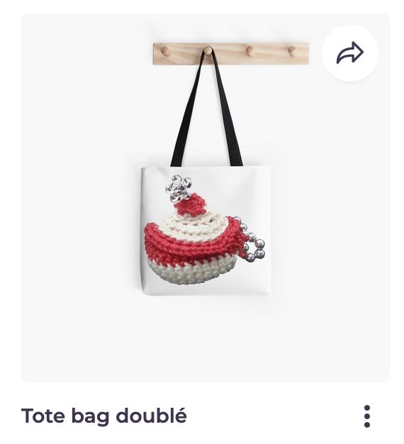 Redbubble Vata Design, sac tote bag