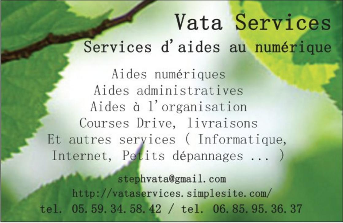 Carte de visite Vata Services