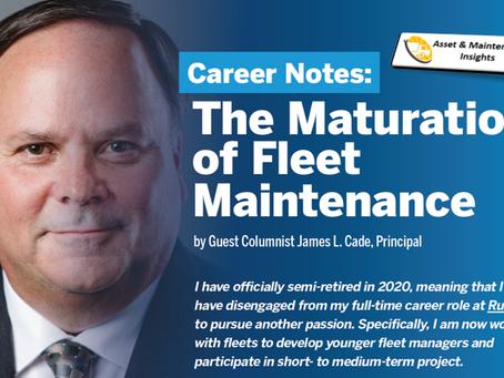 The Maturation of Fleet Maintenance