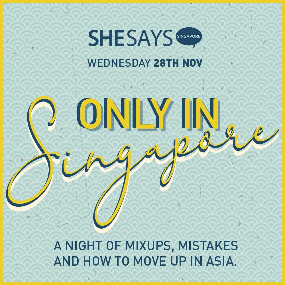 SheSays Nov Event