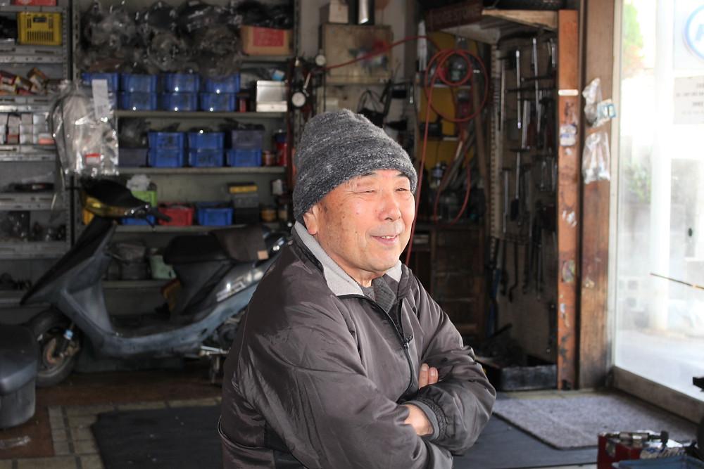 「災害で助け合った地域に恩返したい」と語る波田さん
