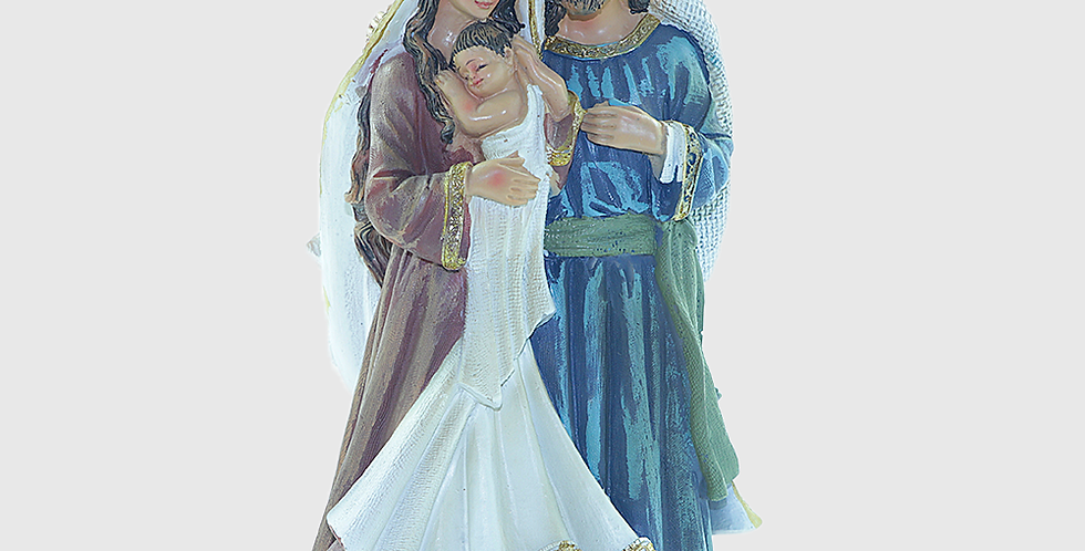 Imagem Sagrada Familia - 20cm
