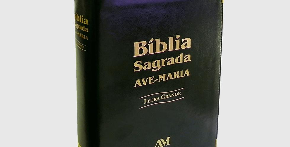 Bíblia Sagrada Ave Maria (Letra Grande)