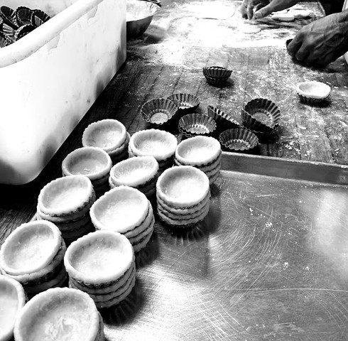 egg tart preparation