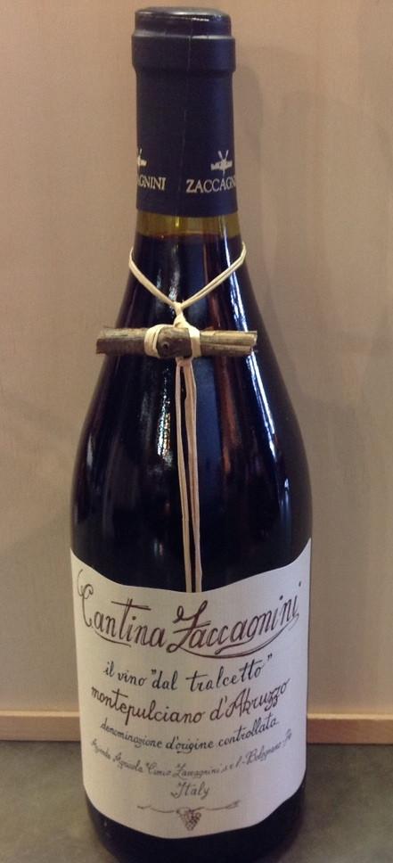 2012 Cantina Zaccagnini Il Vino Dal Tralcetto Montepulciano d'Abruzzo.JPG