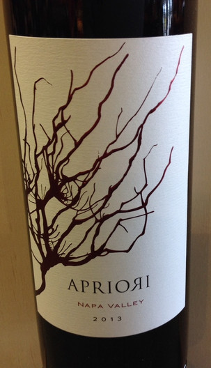 2013 Apriori Red Blend - 93 pts William Bincoletto