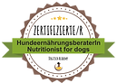 Zertifizierte Hundeernährungsberaterin / Certified Nutritionist for dogs