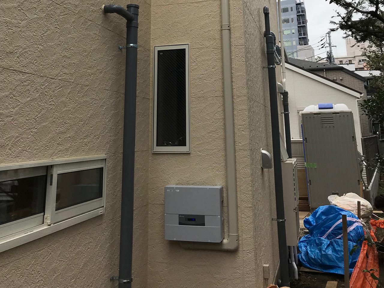 一般住宅屋根上太陽光工事