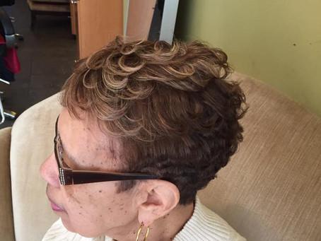 Grey Hair Highlight Coloring Tips