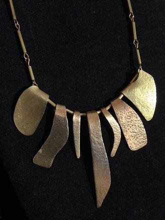 Hammered Brass Necklace.JPG