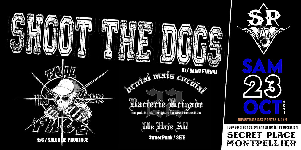 SHOOT THE DOGS + FULL IN YOUR FACE + BACTERIE BRIGADE