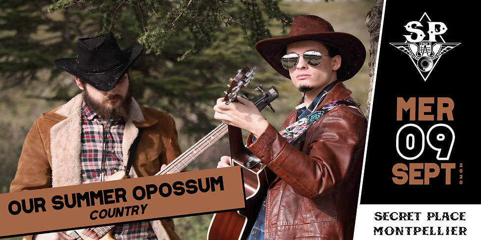 O.S.O (OUR SUMMER OPOSSUM)