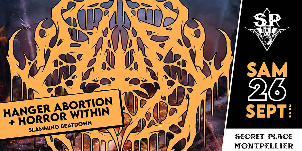 HANGER ABORTION + HORROR WITHIN