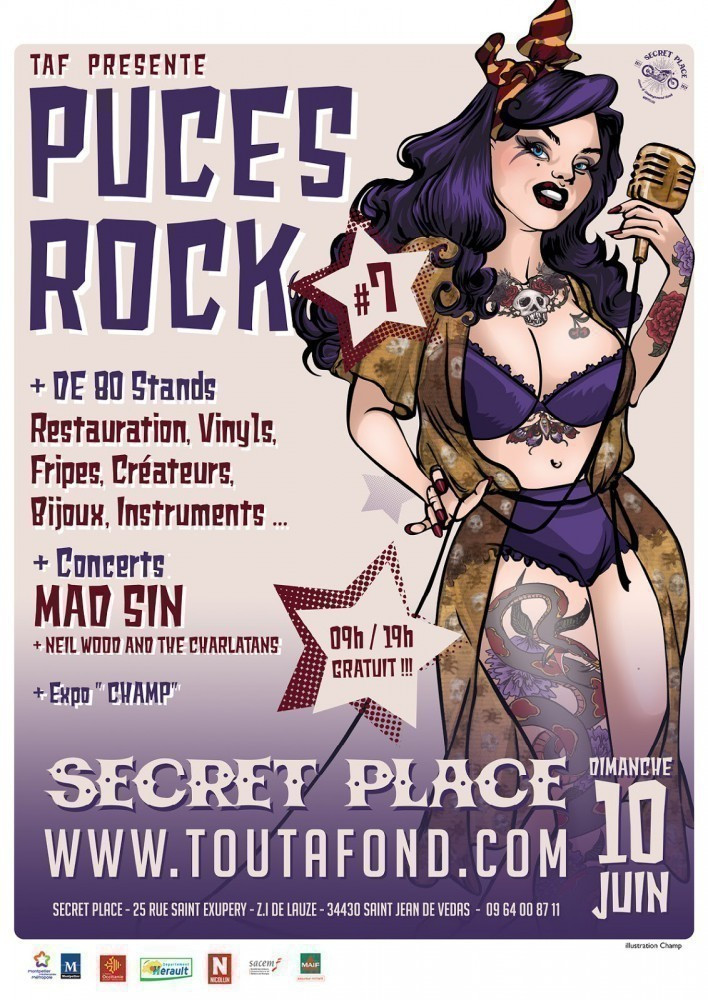 PUCES ROCK 7